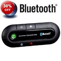 Portable Bluetooth Hands Free Wireless Communication Kit - Portable - Mini Style - Wireless Communication