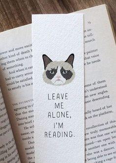 Leave me alone, I'm reading.