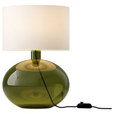 LJUSÅS YSBY Table lamp - green - IKEA