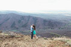 Blue Ridge Engagement Photos with Modern Owl Photography on Borrowed & Blue.  Photo Credit: Emily Sacco Photography