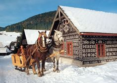 Čičmany: Slovakia's painted village   My inspiration and one of my favourite places. in the world