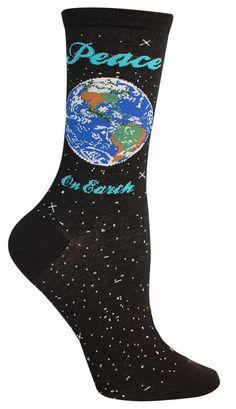Peace On Earth Socks