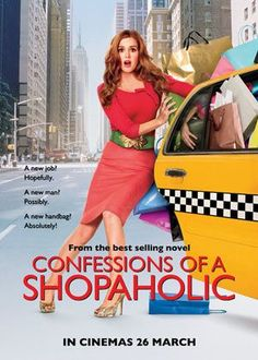 Films with fashion influence - 2009 Confessions of a Shopaholic poster