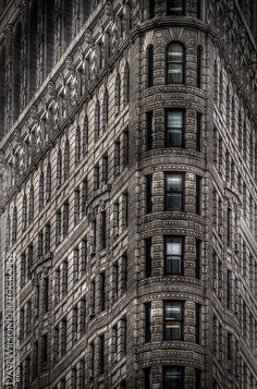 Flatiron Building, New York by DaveWilsonPhotography, via Flickr