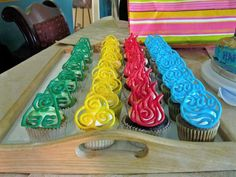 The four nations cupcakes <3