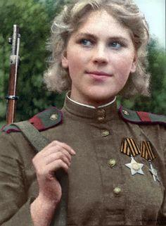 Roza Shanina - soviet sniper