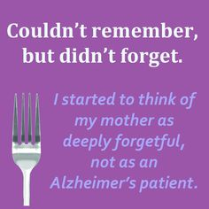 Understanding the difference between memory and forgetting explained in an article by Bob DeMarco (Alzheimer's Reading Room). Dementia Care, Alzheimer's And Dementia, Walk To End Alzheimer's, Understanding Dementia, Aging Parents, Alzheimers, Safety Tips, Caregiver, Don't Forget