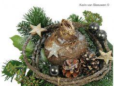 bloemstuk kerst karinvansleeuwen.nl