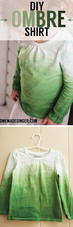 Make a DIY ombre shi