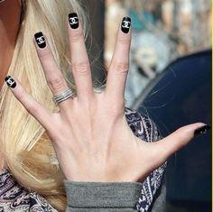 Chanel nails... so pretty