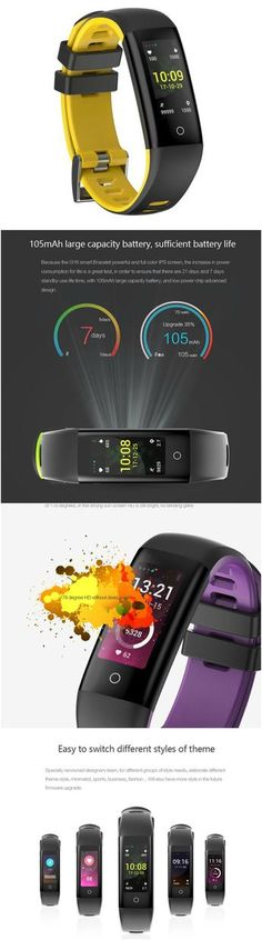 New Fitness Wristband Smart Band - compatible with Android, IOS via Bluetooth. Alarm clock, message and call reminders - perfect for workouts, gym, daily exercise, jogging and running, health and travel enthusiasts. Great accessory for Apple iPhone 6 7 8 Plus X series, Samsung Galaxy 7 8 9 series, LG, Sony XZ, Windows phone, smart phones, cell phones and all other mobile phones.