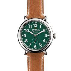 THE RUNWELL 41mm Green  Watch