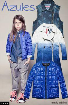 ESPECIAL PRENDAS DE ENTRETIEMPO. differet styles blue jacket