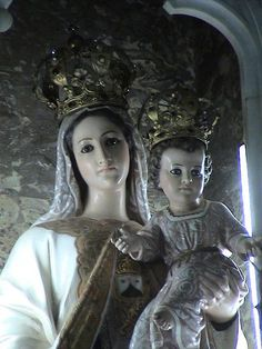 Virgen del Carmen, Altar Mayor, Parroquia de San Ramón, Alajuela, Costa Rica