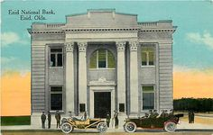 OK, Enid, Oklahoma, Enid National Bank Building, Exterior View, SH Kress No 1708
