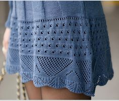 knit dress - detail