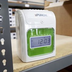upunch hn3000 electronic time clock upunch pinterest clocks and discount price - Upunch Time Cards