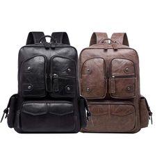 Vintage Backpacks, Men's Backpack, Travel Accessories, Fashion Bags, Fashion Handbags, Men's Backpacks