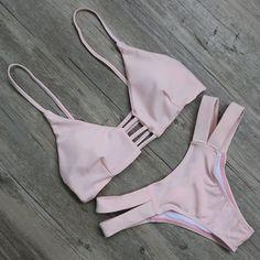 Bikini Set 2016 Summer Swimwear Biquini Women Sexy Beach Swimsuit Bathing Suit Push up Brazilian Bikini Maillot De Bain