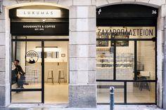 Lukumas. Doughnuts and coffee. C/ Torrent de l'Olla, 169, 08012 Barcelona