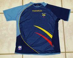 39cdc1e74 MARATHON Ecuador National Team Away Jersey