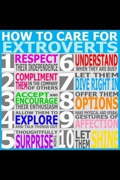 #extrovert #HowToLoveMe