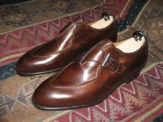 Freaking INSANE Antiqued Bontoni Monks- BRAND NEW (lasted trees, box, bags) Sale/Trad | Shop Import Workwear