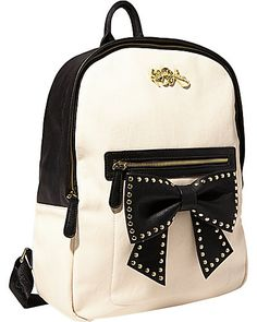 Betsey Johnson Sincerely Yours Bow Backpack #BetseyJohnson #Handbags at Showroom Bliss