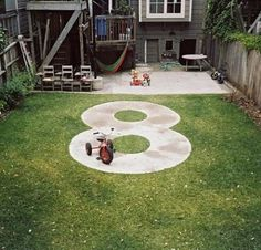 photo of homemade outdoor race track - Yahoo Search Results
