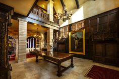 Foyer at Dover Hall
