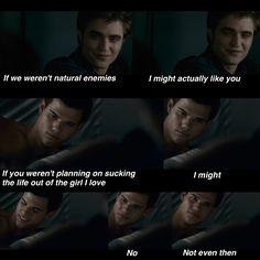Twilight --> Eclipse ❤️ ohh Jacob... Edward and Jacob