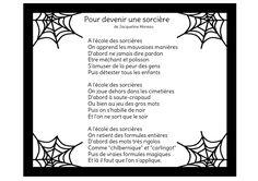 Poésie - Pour devenir une sorcière...