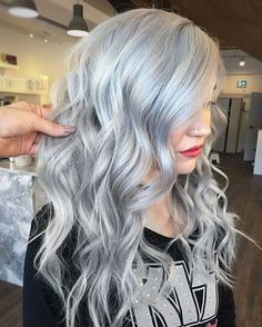 Ideas to Get Silver Grey Hair Color for This Spring