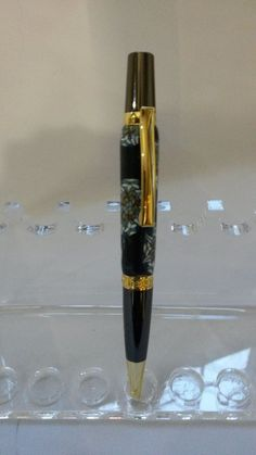 Stained Glass Elegant Teachers Pen in Clay