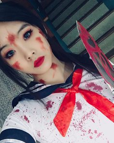 Ayano Aishi cosplay by _zhimin on IG | Yandere Simulator | pinned by claire_valdez