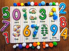 🔢🟢 Number Recognition Activity 🟢 🔢 We love this #CountlessWaysTo Play idea featuring our See Inside Numbers Peg Puzzle! After completing the puzzle, encourage your child to fill in each puzzle space with the correct number of pom poms. This activity promotes counting skills, number recognition, and hand-eye coordination!   #PowerofPlay #melissaanddoug #melissaanddougtoys #toddlerplaytime #sensoryactivities #learningathome #screenfreeplay #puzzles #woodentoys #kidsactivities #playmatters Sensory Activities, Educational Activities, Activities For Kids, Number Recognition Activities, Toddler Play, Center Ideas, Pom Poms, Your Child, Wooden Toys