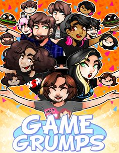 my entry for the game grumps artbook !thank you guys at fyeahgamegrumps blog for inviting me on !! this is super rad thing and glad i got to participate in it ye