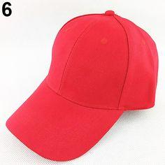 d5d61ecb6cc Men Women Fashion s Pure Color Hip-Hop Adjustable Hat Baseball Cap 2017   Affiliate