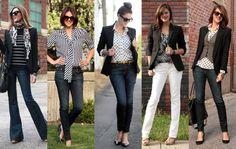 4 tipy ako v džínsoch vyzerať menej ležérne