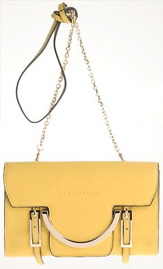 Yellow Coccinelle clutch