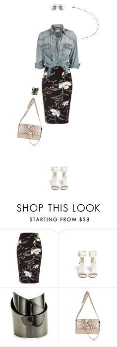 """""""Agora Eu Quero Ir - Look Seven"""" by vicky-carter ❤ liked on Polyvore featuring River Island, Jason Wu, Alexis Bittar, Chloé and Christian Dior"""