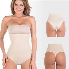 d715d1f5ed404 Body Shaper Discretely controls abdomen and waist Braless Panty Type.  Lingerie Shapewear Slimming Body Suit