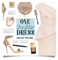 """""""The Way You Look ..."""" by marina-volaric ❤ liked on Polyvore featuring Monique Lhuillier, Balmain, Halston Heritage, Michael Kors, Burberry, Yves Saint Laurent, NARS Cosmetics and dress"""