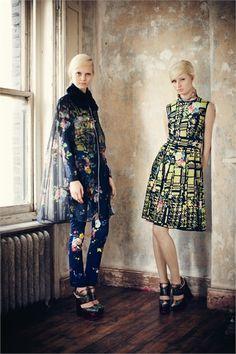 Sfilata Erdem London - Pre-collezioni Autunno Inverno 2013/2014 - Vogue