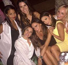 Victoria Beckham, Eva Longoria, Geri Halliwell, Emma Bunton & Melanie Chisholm