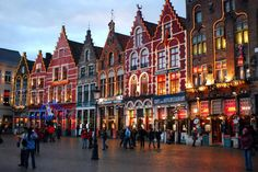 Getting from Brussels to Bruges and Ghent via public transportation or by rental or lease car, with map and travel tips for Belgium.