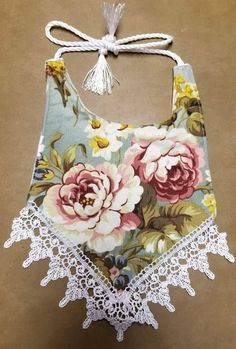 Vintage or Boho Baby items with lace. Several different patterns to choose from, made to order. Buy as a set or buy in pieces. Homemade Baby Clothes, Homemade Baby Toys, Sewing Baby Clothes, Baby Kids Clothes, Baby Clothes Patterns, Sewing Patterns Free, Flannel Material, Bib Pattern, Boho Baby