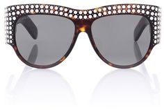 a5798ad247 Gucci Crystal-embellished sunglasses