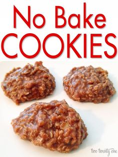 No bake cookies cause me to reminisce.  The first time I made no bake cookies was when I was in mini 4-H.  I'm fairly certain I entered those cookies in the county fair the 3 years I was in mini 4-H.  I think I mixed it up one year by using chunky peanut butter instead of creamy.