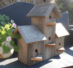 Barn Wood Bird Houses - Bing images